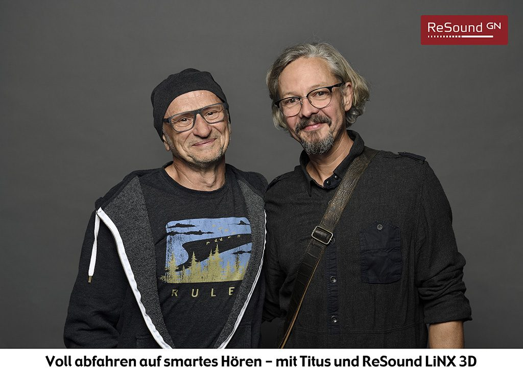Voll abfahren auf smartes Hören – mit Titus und ReSound LiNX 3D