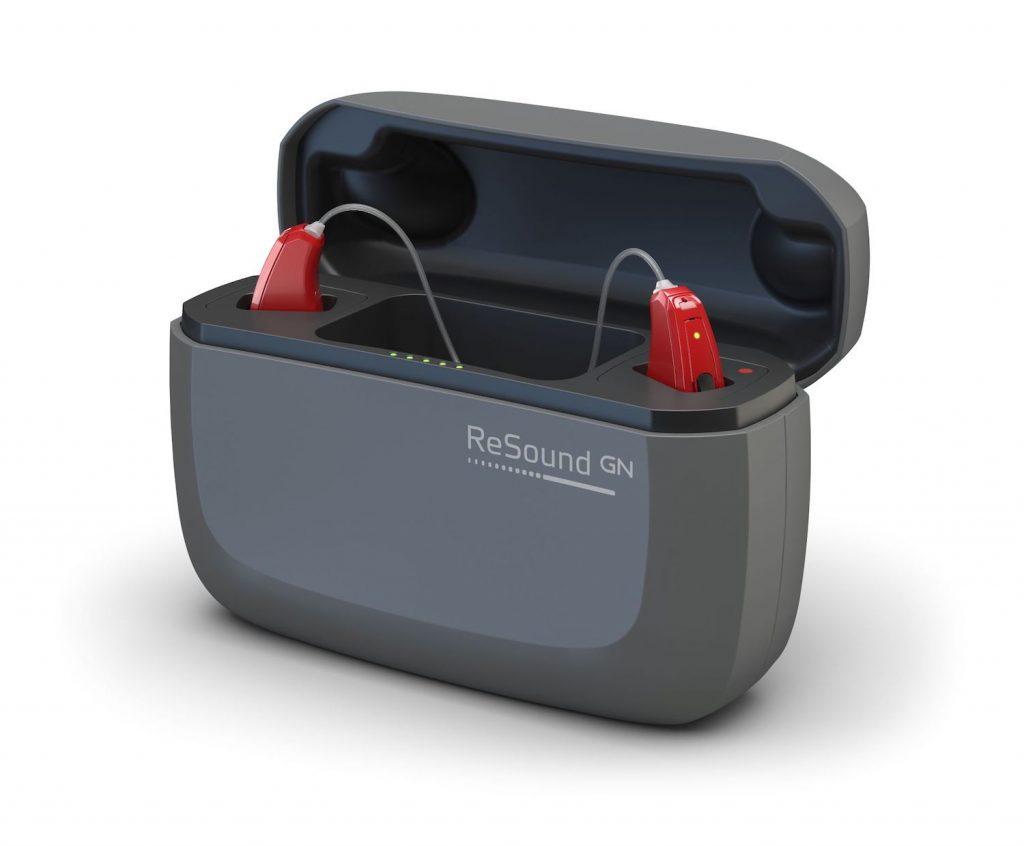 Hörgerät LiNX Quattro mit Akku Ladestation