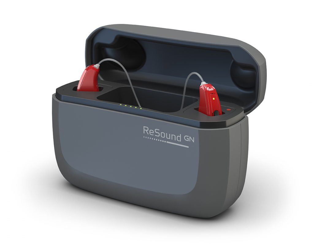 ReSound LiNX Quattro Charger Front Open